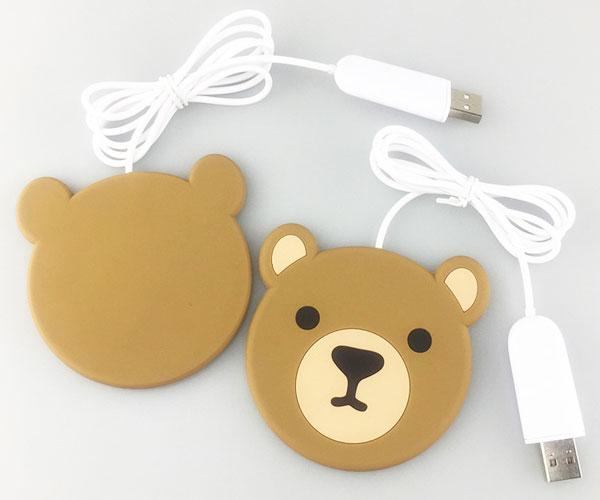 小熊无线充青蛙无线充分离式无线充电器方案