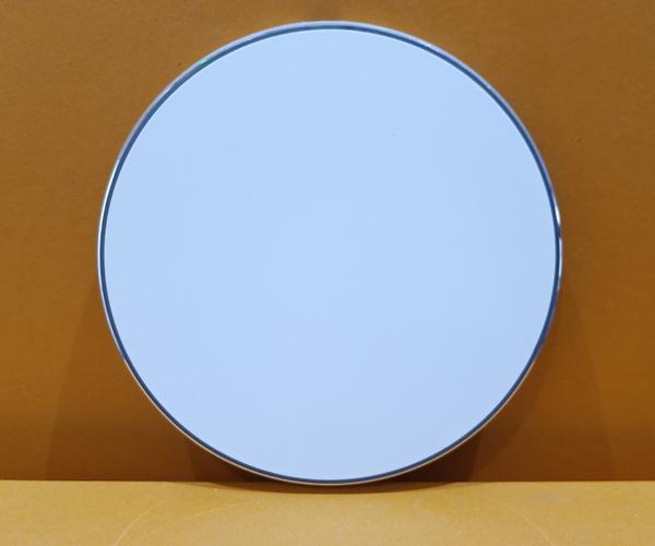 圆形铝合金桌面无线充电器可彩印图案